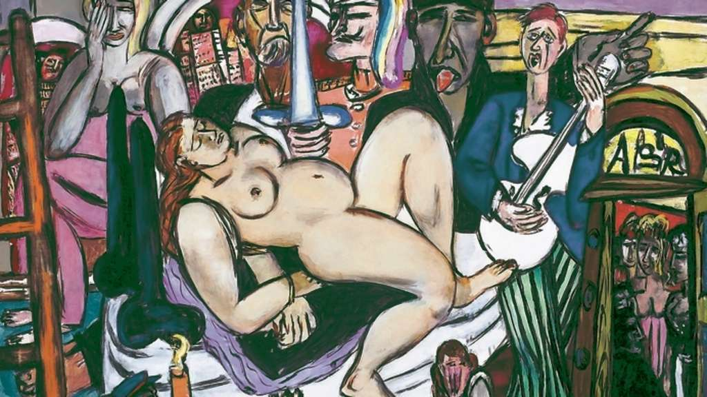 "Sex und Gewalt: Max Beckmanns ""The Town (City Night)"" kommt aus dem Saint Louis Art Museum nach Frankfurt."