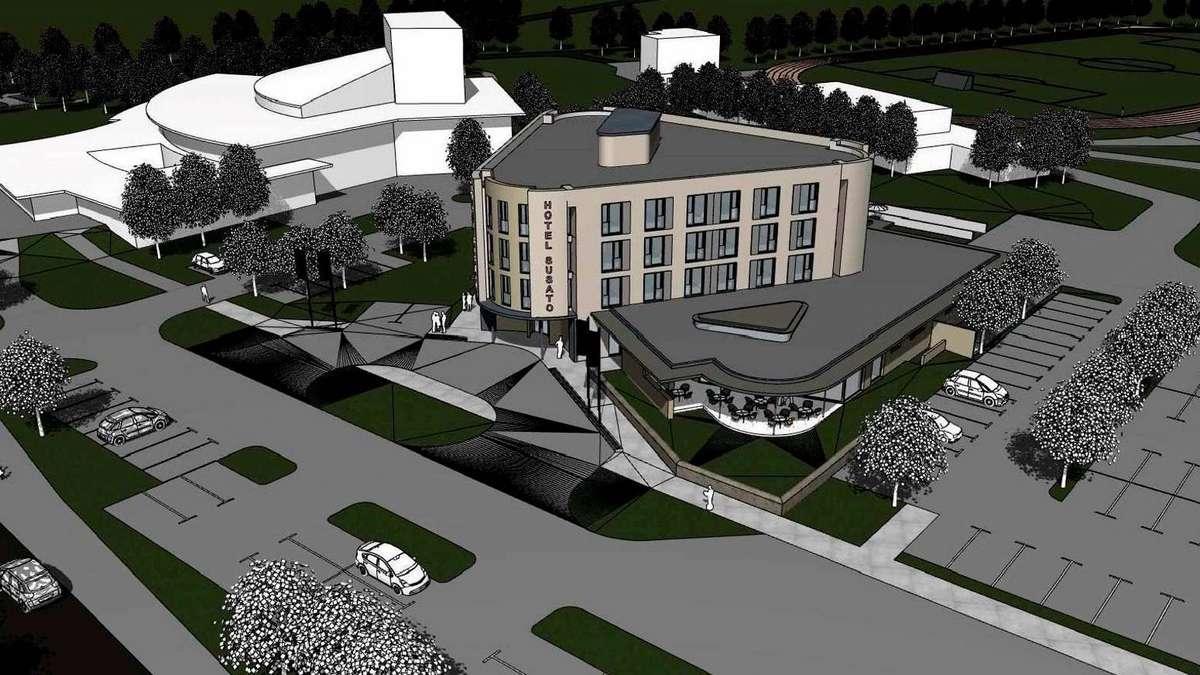 Weg ist frei f r neues hotel an der stadthalle soest for Design 8 hotel soest