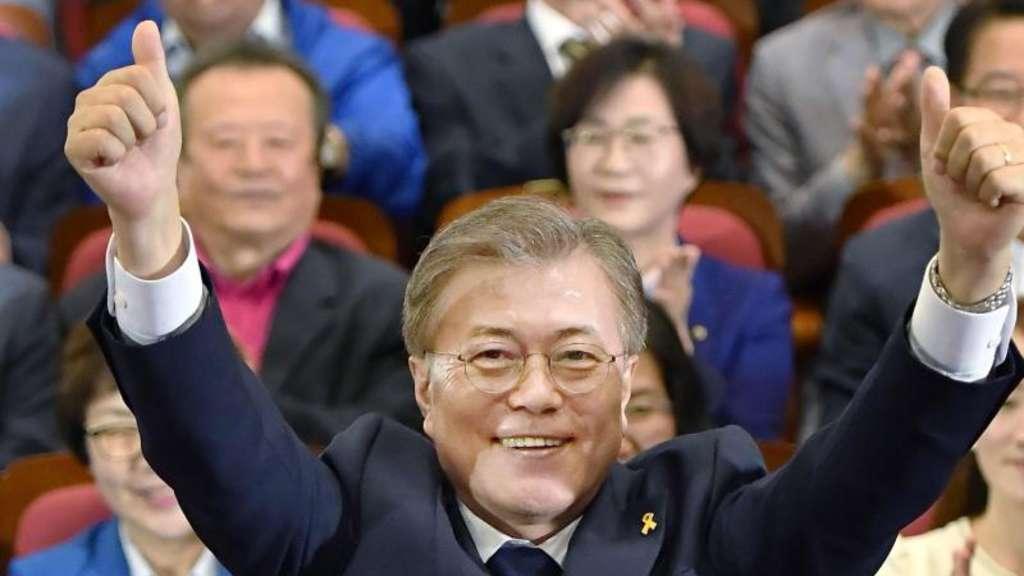 Prognose: Mitte-Links-Kandidat bei Präsidentenwahl in Südkorea vorn