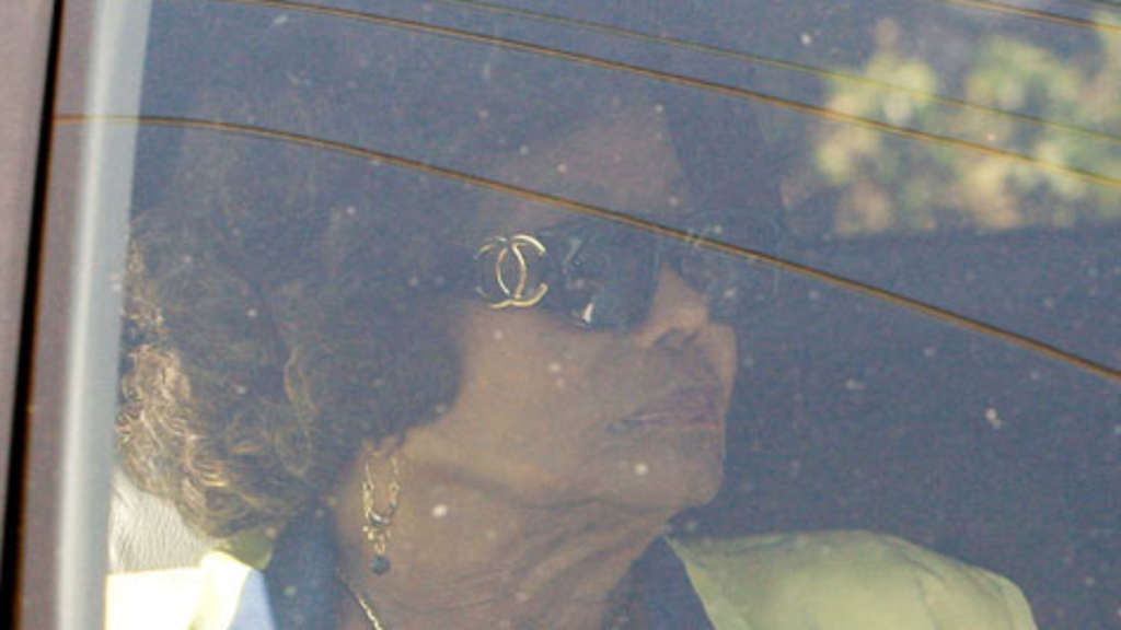 "Katherine Jackson , die Mutter des ""King of Pop""."
