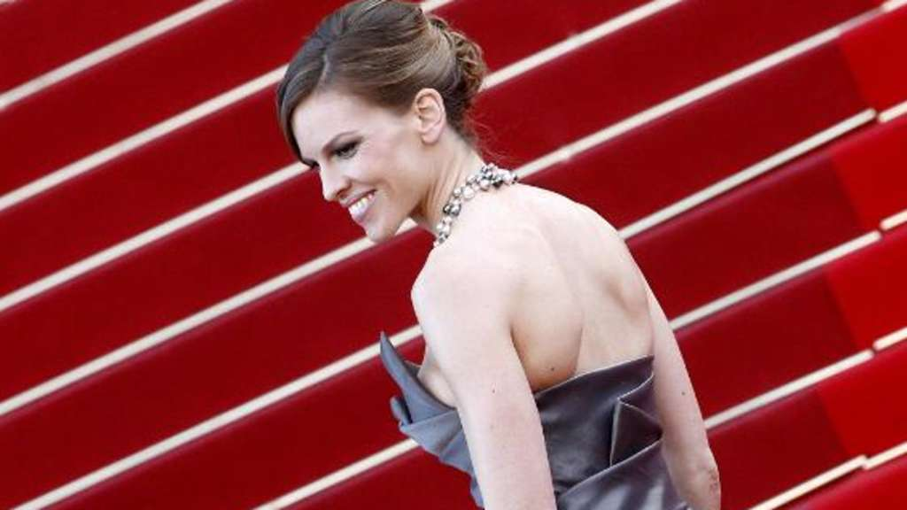 Hilary Swank Cannes