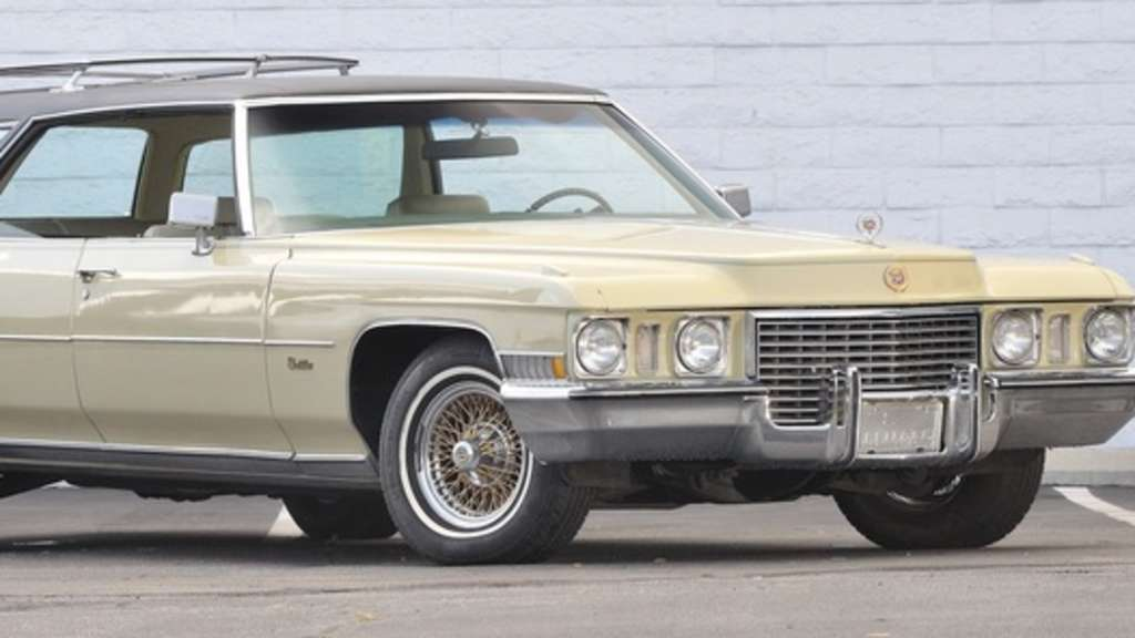 Cadillac Custom Estate Wagon von 1972