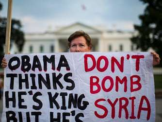 Demonstration Syrien