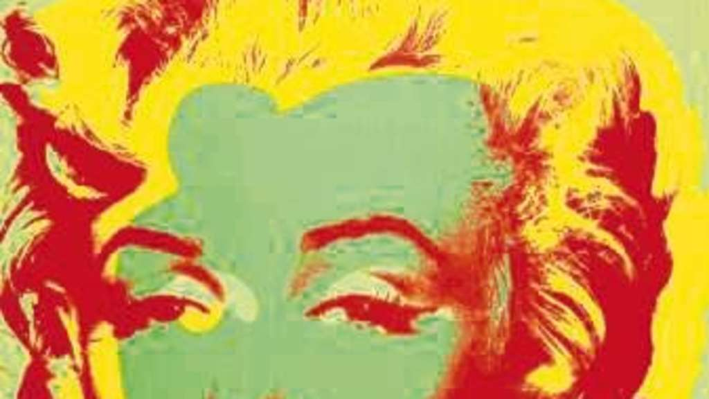 Pop-Ikone: Marilyn von Andy Warhol (1964).
