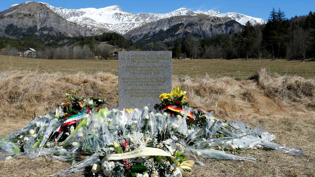 Germanwings Gedenkstätte Le Vernet