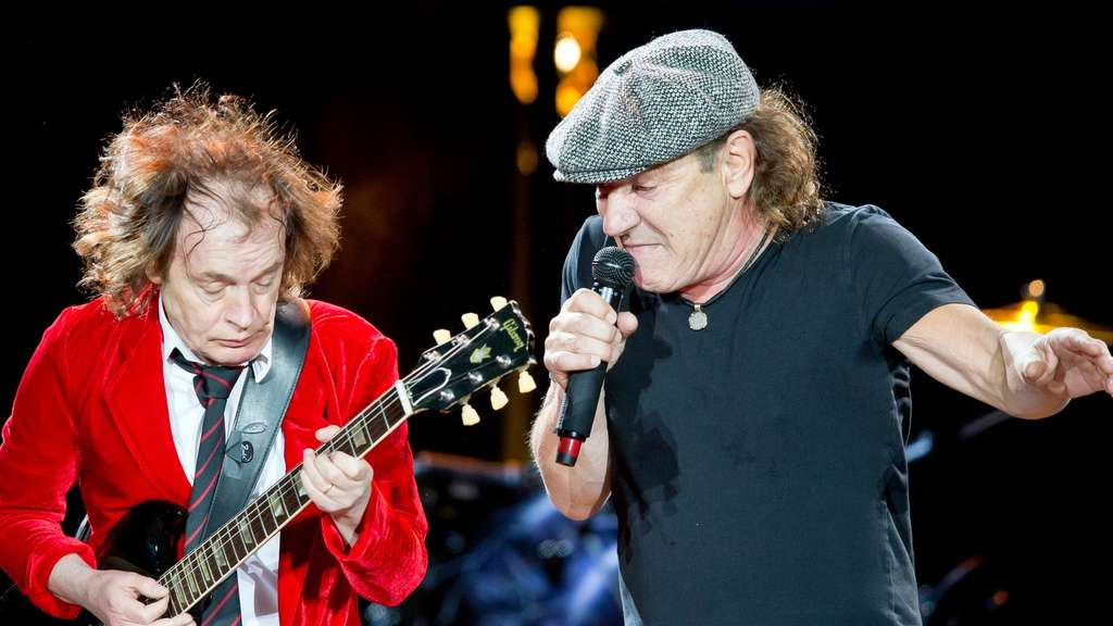 AC/DC, Konzert, Angus Young