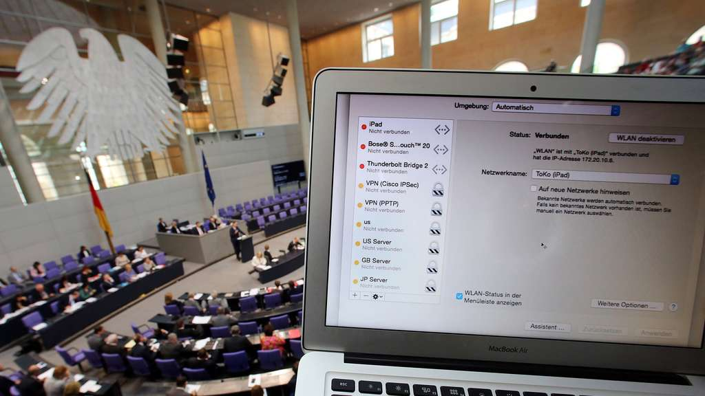 Gesetz Bundestag IT Sicherheit