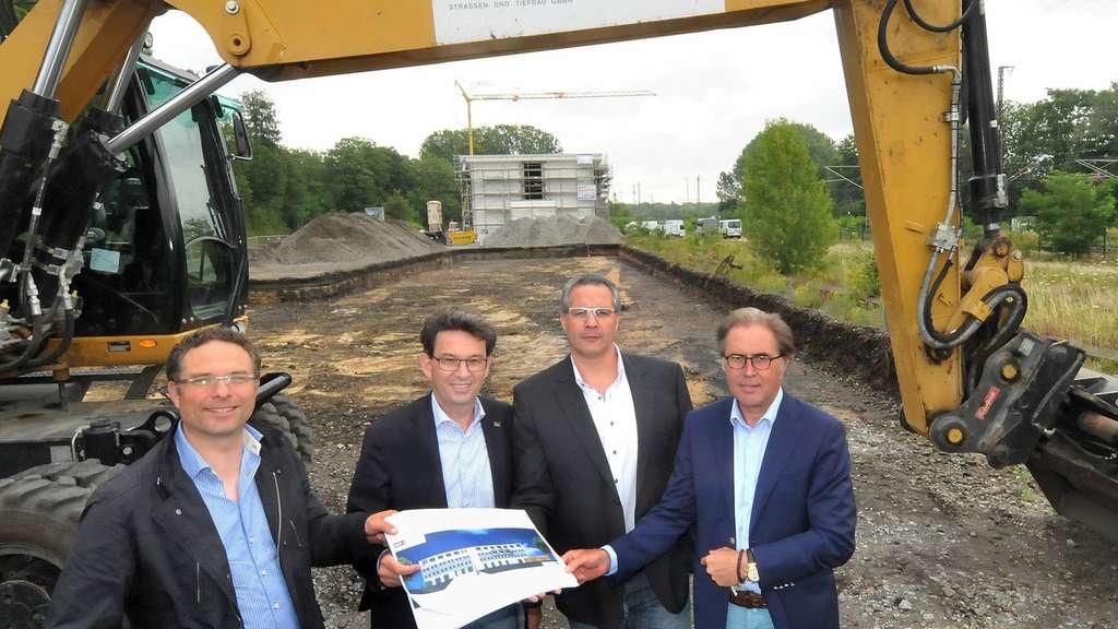 Bauunternehmen Soest bauarbeiten für neues hotel am bahnhof beginnen soest