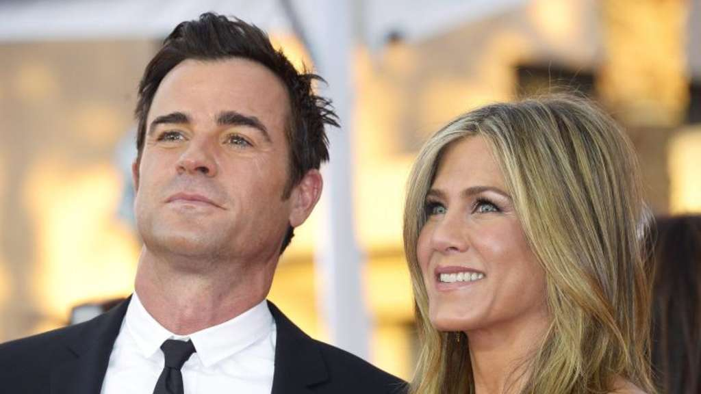 Jennifer Aniston und Justin Theroux bei den Screen Actors Guild Awardss. Foto: Paul Buck