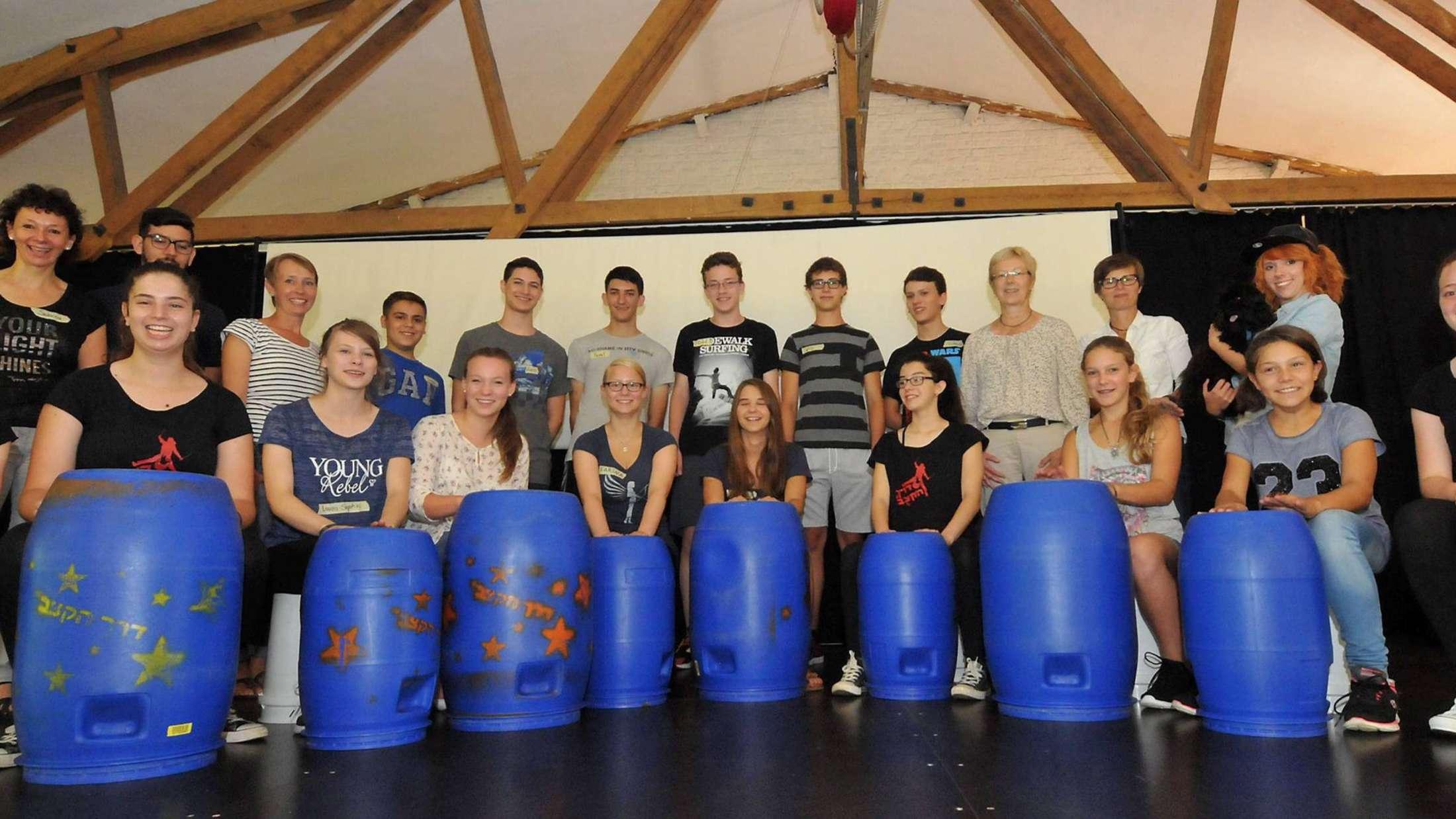 Jugendliche aus Israel und aus Soest stellen die Förderung von Toleranz, Teamfähigkeit und Weltsicht in den Mittelpunkt ihrer Arbeit.