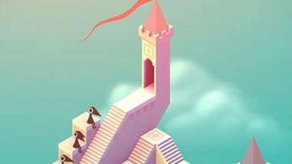 "Beim iOS-Game ""Monument Valley"" muss man Prinzessin Ida durch ein Labyrinth surrealer Paläste geleiten. Foto: iTunes"