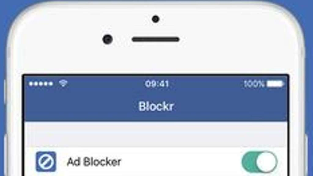 "Schützt die Privatsphäre: ""Blockr"" blockiert neben Ads auch so gut wie jede Datensammel-Technik. Screenshot: www.itunes.apple.com Foto:"