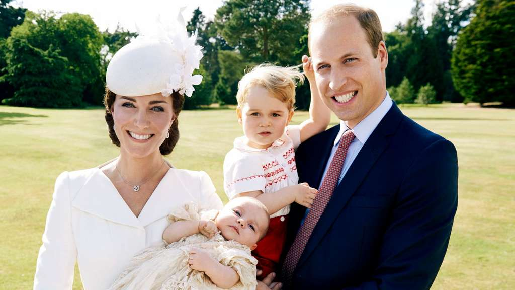 William und Kate, Britischen Royals, Royal Baby, George, Charlotte