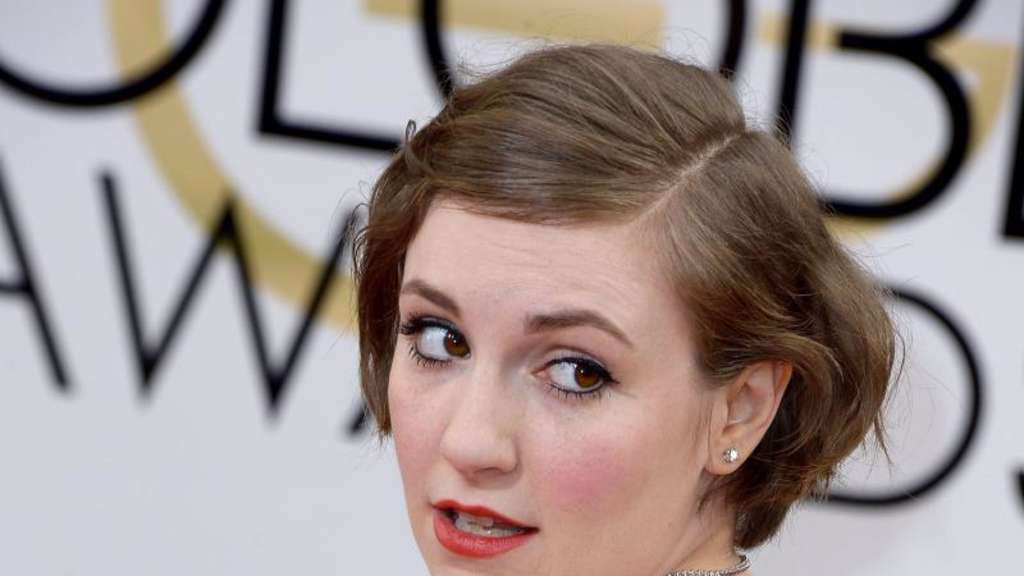 Lena Dunham bei den Golden Globe Awards 2014 in Beverly Hills. Foto: Paul Buck