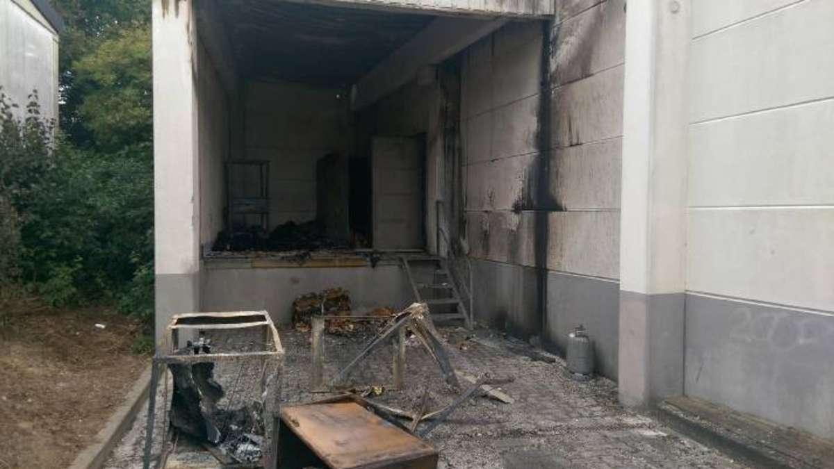 Nach Feuer bei Aldi Soest: Das gesamte Sortiment muss raus