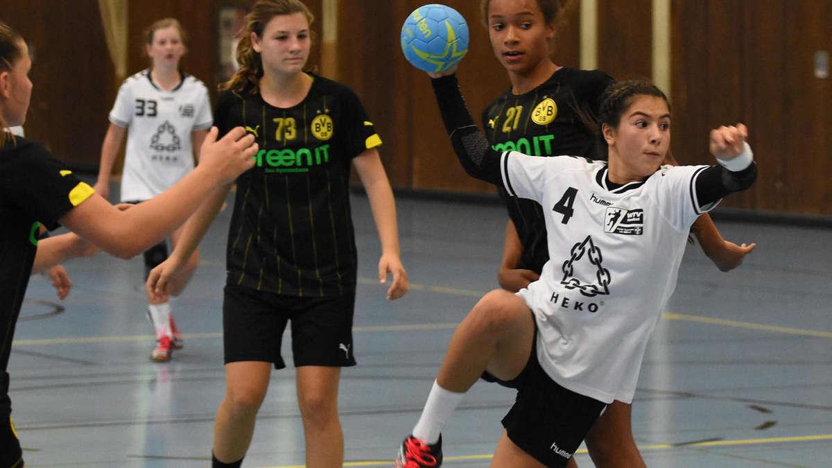 Mädchen Handball