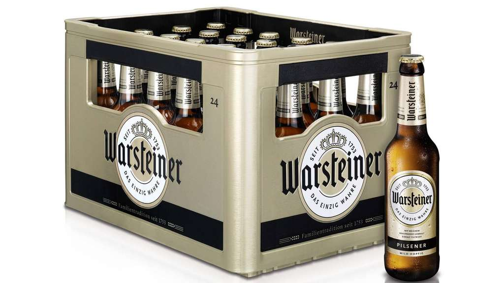 warsteiner gold kasten ab dezember im heimatmarkt warstein. Black Bedroom Furniture Sets. Home Design Ideas