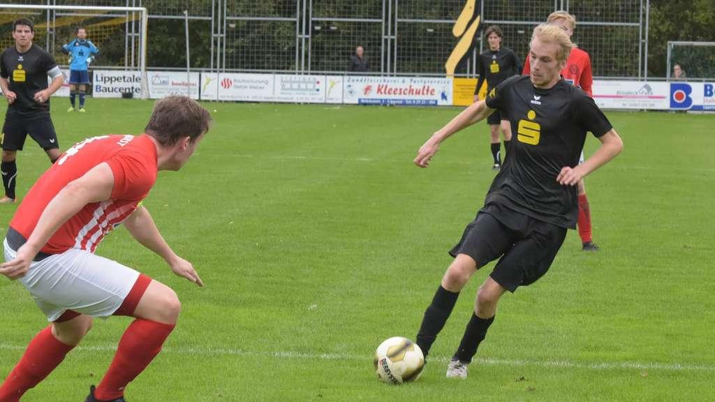Nico Scholz traf doppelt für SGO beim Auswärtssieg in Freckenhorst.