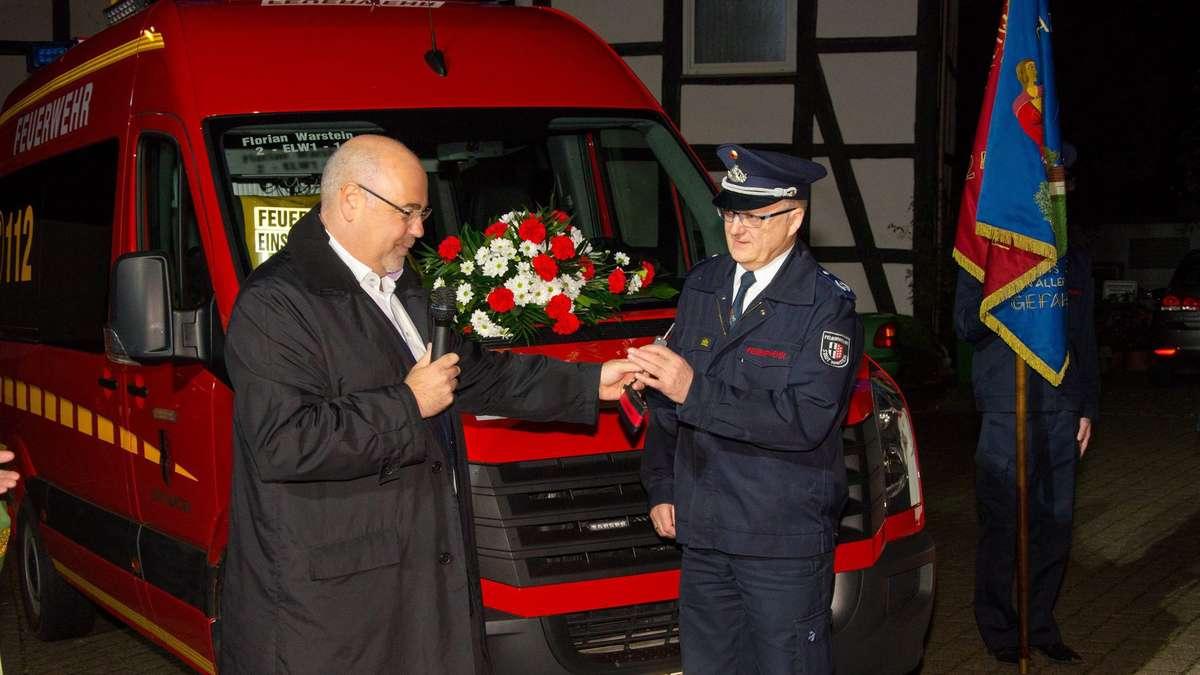 Neues Leitfahrzeug für Belecker Feuerwehr