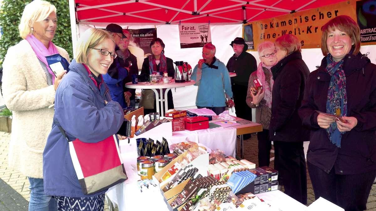 Interview mitOrganisator Hendes Bauten zum Allerheiligenmarkt in Niederense