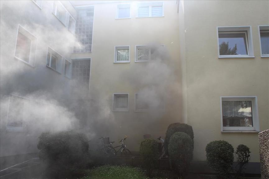 Brand an der Soester Straße in Werl