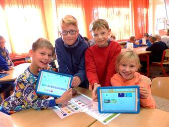 Tablet Workshop an der Engelhardschule
