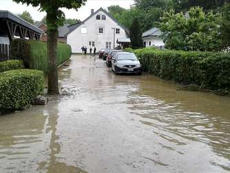 Unwetter in Werl