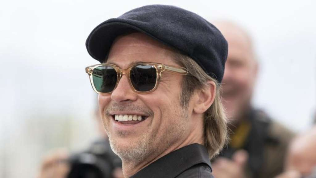 "Brad Pitt bei der Premiere von ""Once Upon a Time in Hollywood"" in Cannes. Foto: Joel C Ryan"