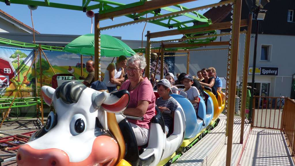 High Noon beim Start in die Kirmes