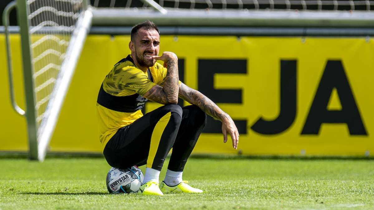Paco Alcacer Verletzt