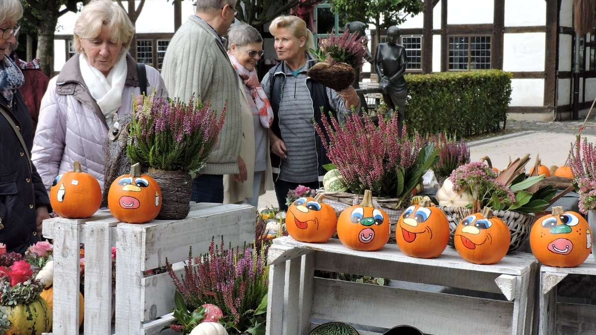 Herbstmarkt im Kurpark lockt das Publikum - Soester Anzeiger