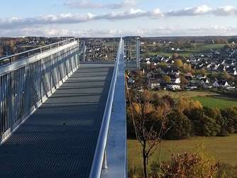Blick vom Skywalk ab dem 22. November