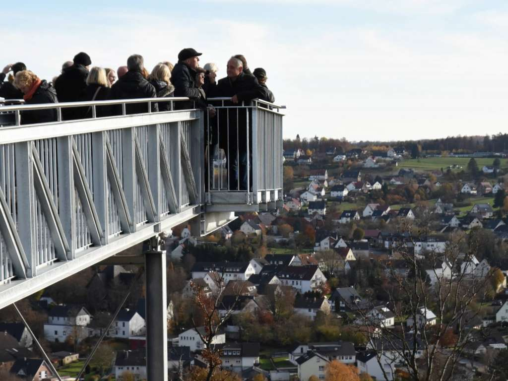 Skywalk Eroffnung In Allagen Warstein