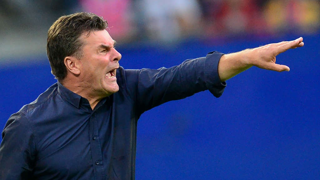 Hamburger SV - Trainer Dieter Hecking