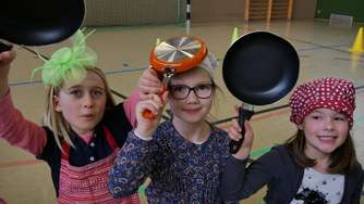 Pancake Day an der Melanchthonschule Wickede