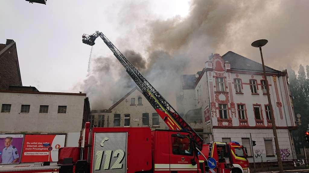 Großbrand Dortmund