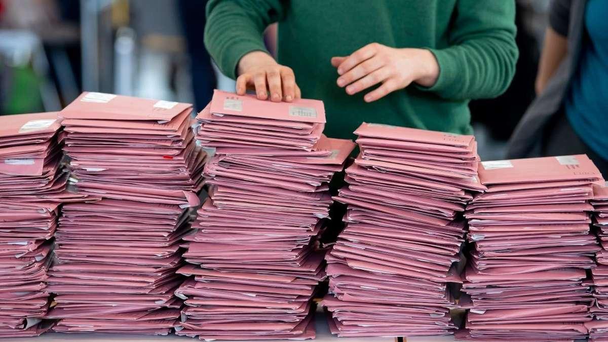 Kommunalwahl Briefwahl