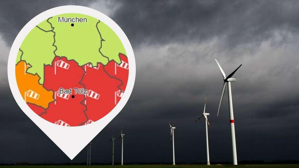 """Wetter in Deutschland: Sturm """"Brigitte"""" wütet schon bald ..."""