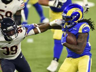 Los Angeles Rams besiegen Chicago Bears in NFL-Montagsspiel