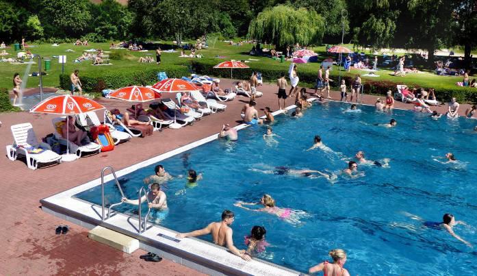 """""""Natürlich blöd"""": Erst Platz zum Schwimmen reserviert, dann nicht gekommen"""