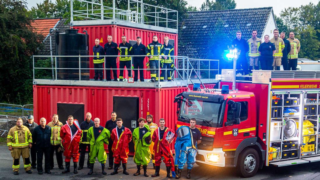18 Feuerwehrleute aus dem Kreis Soest nahmen am Lehrgang teil.