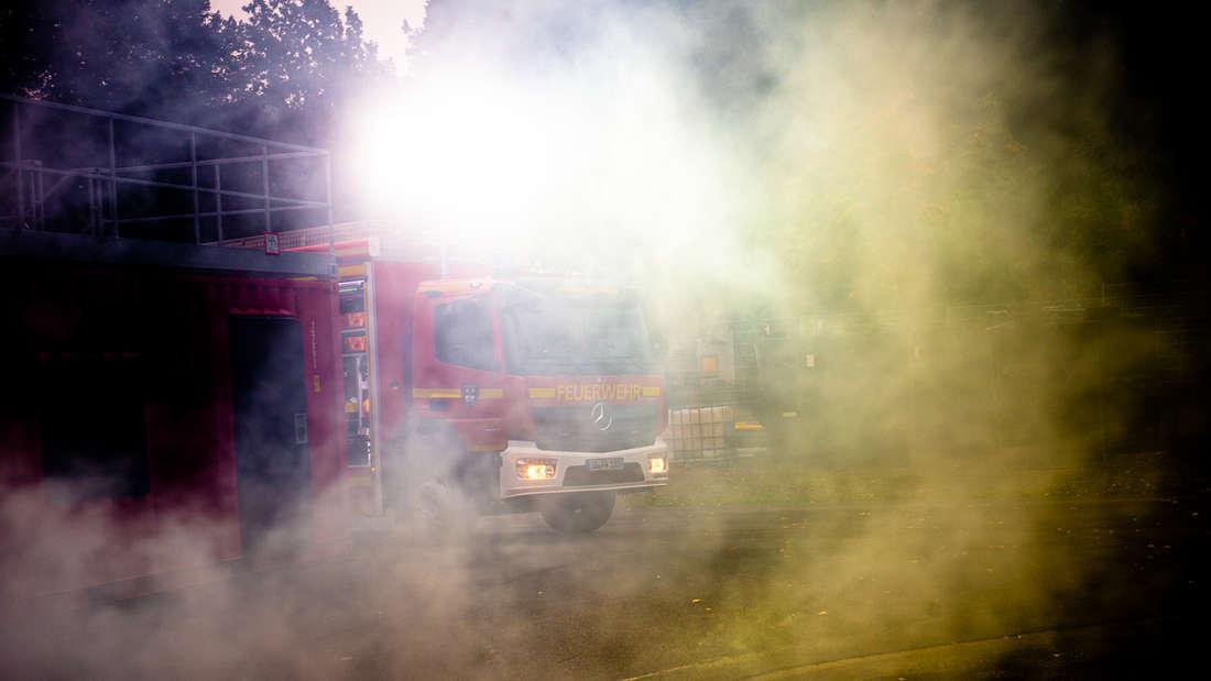 ABC-Lehrgang der Feuerwehren im Kreis Soest auf Werler Übungsgelände